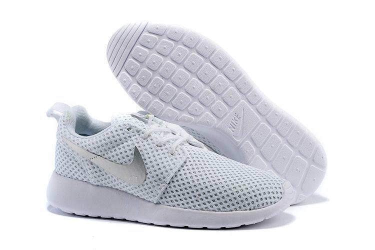 91008dcb9c12 Noir Floral Nike Chaussures Femme de Blanche Roshe Run Mesh Jogging 0zazxg
