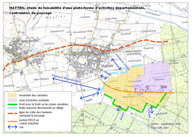 Plan urbanisme CC Hattgau